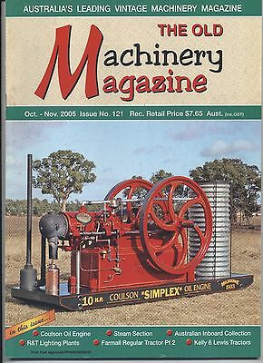 The Old Machinery Magazine TOMM  issue 121 October-November 2005