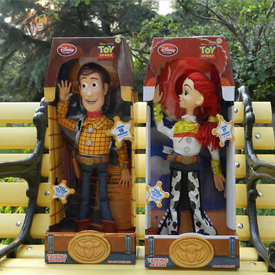 2017Talking Action Figure Woody Jessie Kid Doll Toy Story 3 Pull String Gift 15