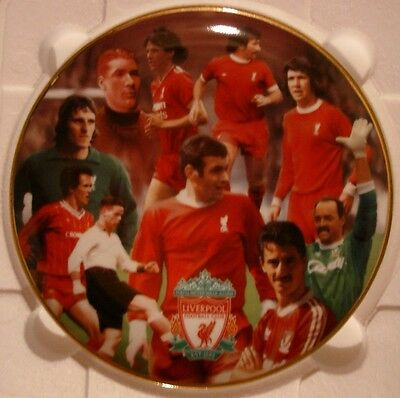 """Liverpool Fc Plate By Danbury Mint (Rob Perry) 8"""" Most Loyal"""