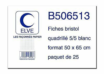 ELVE tabs 650 x 500 mm squared weiB 3416795065136