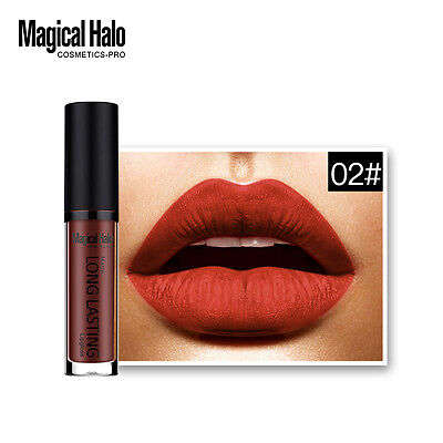 Fashion Matte Magical Liquid Lipstick Waterproof Beauty Makeup Lip Gloss 02#