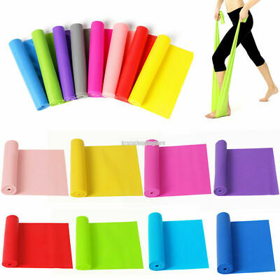 1.2M Elastic Gym Pilates Yoga Physio Fitness Workout Stretch Resistance Bands
