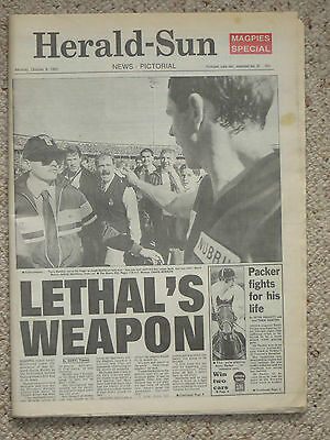 Melbourne HERALD-SUN Mon 8/10/90: First Issue