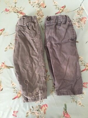 Boys Trousers 9-12 Months
