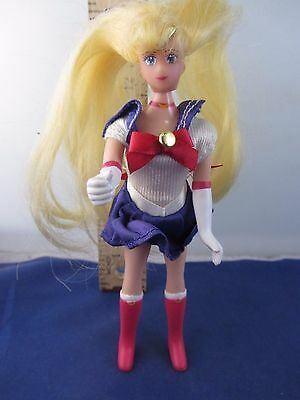 "Adventure Doll: Sailor Moon ~ 6"" action figure 1995 *missing hair tie"
