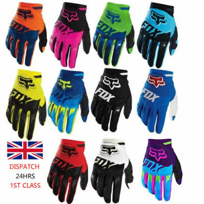 Full Finger Motorcycle Gloves Cycling Bicycle MTB Bike Riding KTM TLD FOX SALE