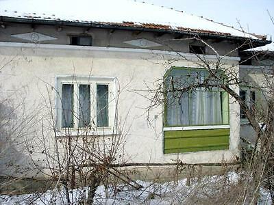 House with 2000 sq.m. plot of land 10 km from Danube River, 130 km from airport
