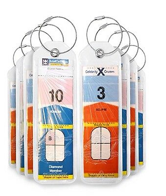 Luggage Tags For Cruising Royal Caribbean & Celebrity
