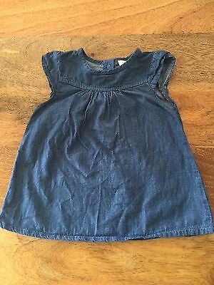 3-6 Month Denim Dress From Next