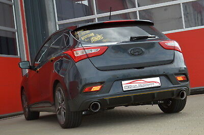 NIL Duplex Tailpipe System Hyundai i30 CW GDH & Coupe 3 5-Door from yr 10/2011