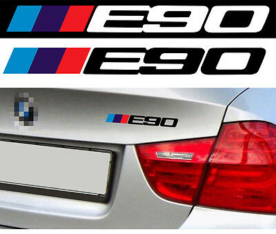 LOGO E90 POUR BMW MOTORSPORT SPORT RACING 18cm AUTOCOLLANT STICKER BA229