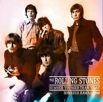 The Rolling Stones So much Younger Than Today LP vinilo multicolor