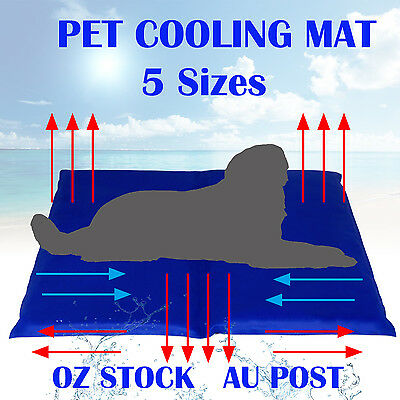 Pet Cooling Cool Gel Mattress Mat Dog Cat Bed Non-Toxic Cooling Dog Summer Pad