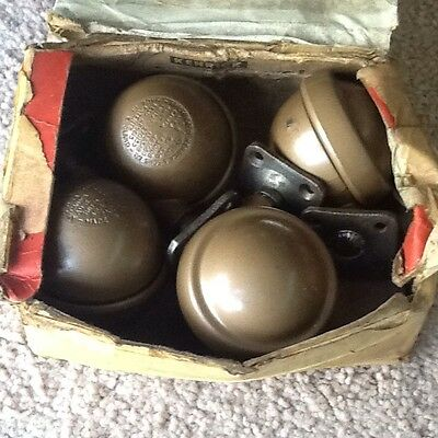 Vintage (1960s) Kenrick Shepherd Heavy Duty Metal Castors - Screw On