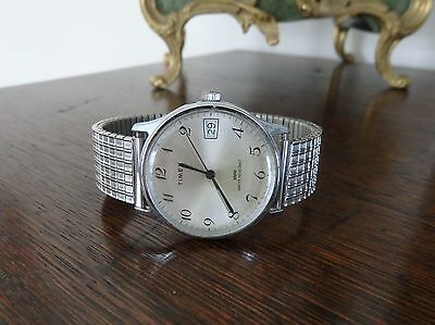 Vintage 1970's Mens Timex Mechanical Watch.