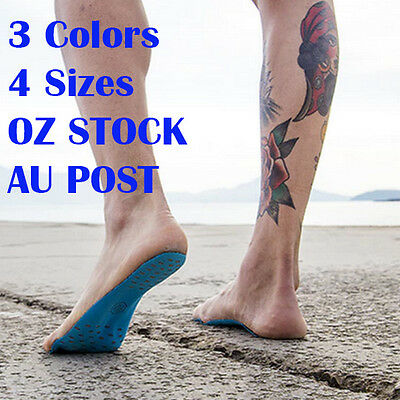 NAKEFIT Feet Sticker Shoes Stick on Soles Sticky Pads beach sock waterproof Aus