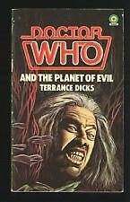Doctor Who and the Planet of Evil by Terrance Dicks (Paperback,)