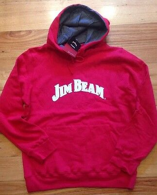 Jim Beam Mens Hoody Jumper Fleece V8Supercars Sizes L, XL, 2XL GREAT WINTER BUY!