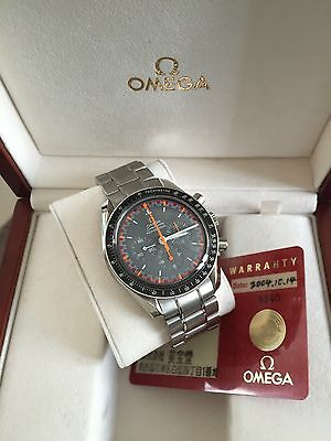 """Omega speedmaster moonwatch chronograph """"Racing Japan 2004"""" limited édition"""