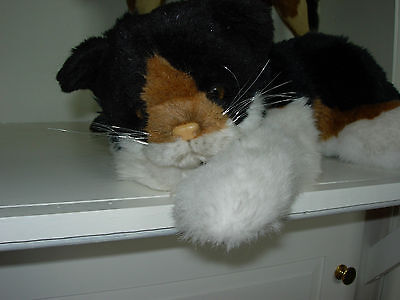 Gorgeous Collector Quality Long-Haired Calico Cat-Avanti, No. 930, 1984,tags
