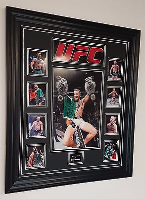 *** RARE CONOR MCGREGOR SIGNED PHOTO PICTURE Autographed Display **
