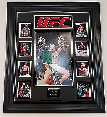 ** RARE CONOR MCGREGOR SIGNED PHOTO PICTURE Autographed Display **