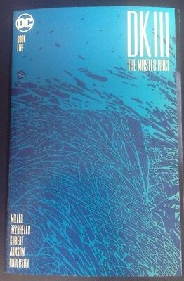 DK III - The Master Race #5 (Frank Miller Variant Fold-Out Cover)