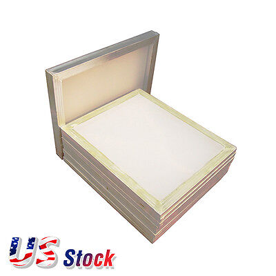 "6 pcs - 20"" x 24"" Aluminum Frame Printing Screens with 160 Mesh White US Stock"