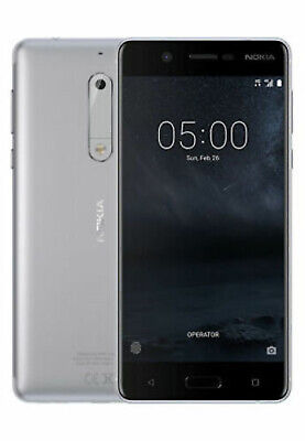 DUMMY Nokia 5 SILVER  NON WORKING ANDROID DISPLAY MODEL PROP UK SELLER