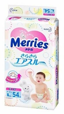 Kao Japan Merries Disposable Diapers Air through Tap L size 54 sheets