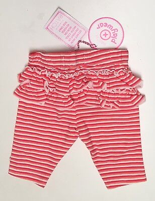 NEW Pumpkin Patch Baby Girl Leggings Size 000 Or 0-3 Months Infant RRP$19.99