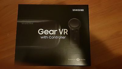 Samsung Gear VR with Controller (2017). Brand New and Sealed!