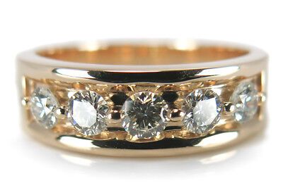 Ring mit Brillanten insg ca 0,60ct Top Crystal/if 585 Gelbgold [BRORS 15036]