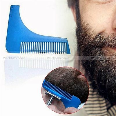 Peigne à barbe rasage professionnel - Beard cut modelling hair shaping styling