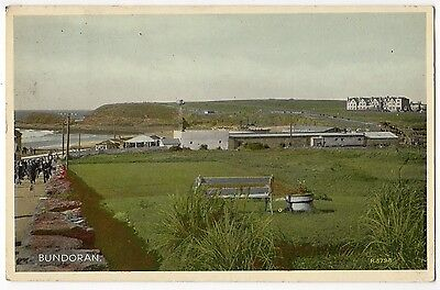 BUNDORAN ~ AN OLD COLOUR POSTCARD 7d47