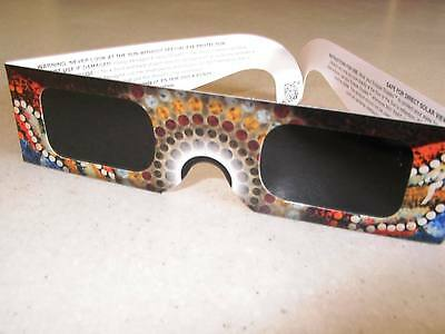 NEW PRICES 3 Approved Solar Eclipse Viewing Glasses WERE $10.50 now $7.20