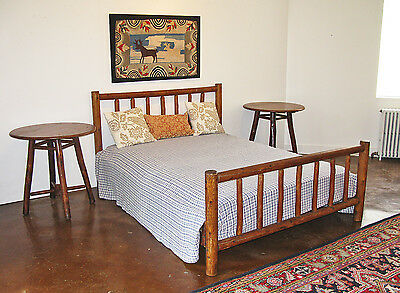 Rittenhouse Rustic Full Bed for Adirondack Rustic Camp Cottage Lodge