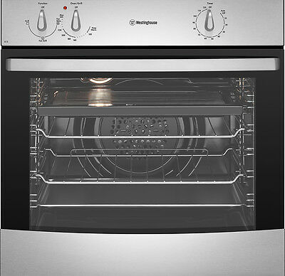Westinghouse WVE613S  Stainless steel fan forced oven Electric
