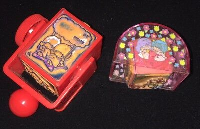 Sanrio Vintage Rubber Stamps Little Twin Stars My Melody Early Characters RARE