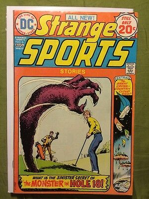 Strange Sports Stories #6 FN- DC Comics
