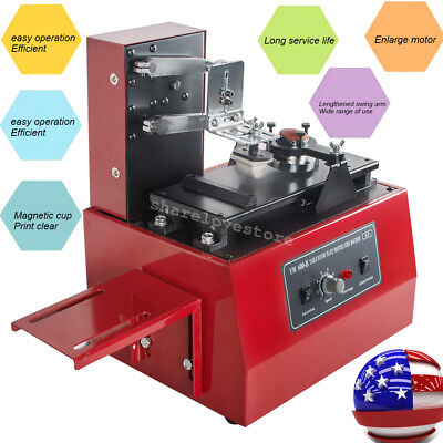 11 in 1 110V Electric Pad Printer Printing Machine for Printing High Speed usa