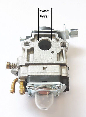 Universal + Cg430  Strimmer Trimmer Chinese Carburetor Carb To Fit  15Mm Bore
