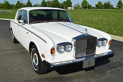 1980 Rolls-Royce Silver Shadow II Very original example! A beautiful Shadow II from America's best in RR & Bs.