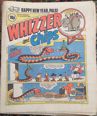 Whizzer and Chips x 27 comics Job Lot (1983)