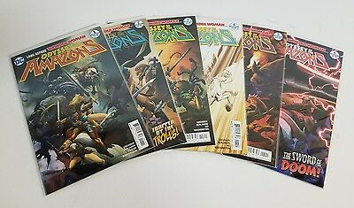 Odyssey of the Amazons (2017) #1-6 Full Run - VF/NM - DC