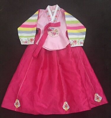 Korean Traditional Hanbok Dress Girl 3-4 years old