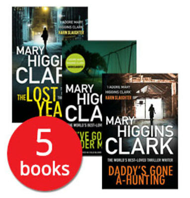 Mary Higgins Clark Collection - 5 Books