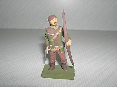 Robin Hood of Sherwood Forest with Sword & Arrows handmade figure.