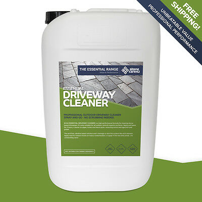 Stonecare4u Essential Driveway Cleaner 25L - Powerful non-acid cleaning formula