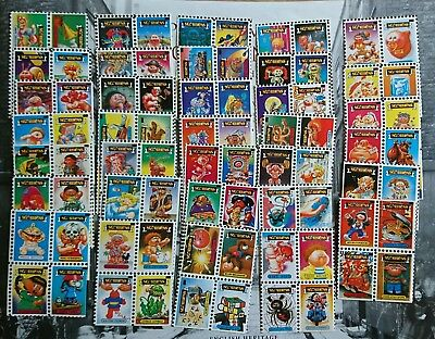 Sgorbions stamps Garbage Pail Kids Italy